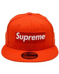 146d3f54aa8 Lyst - Supreme Playboy Box Logo New Era in Blue