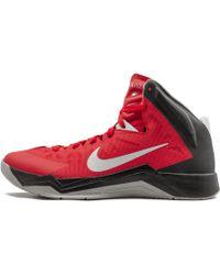 design de qualité 0ea1b eaf8c Lyst - Nike Lunar Hyperquickness Basketball Shoe in Red for Men