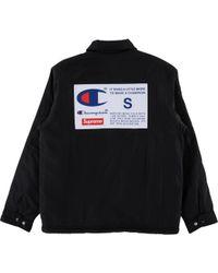 7cf2186229 Ralph Lauren. Black Label Pinstripe Blazer Men s.  145  113 (20% off).  Luxury Garage Sale · Supreme - Champion Label Coaches Jacket - Lyst