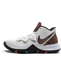 a1d519f8730 Nike Kyrie 4 Bhm Men s Basketball Trainers (shoes) In Red in Red for ...