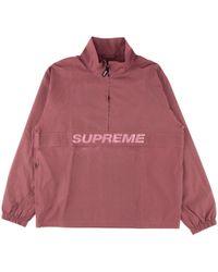 Supreme - Reflective Half Zip Pullover - Lyst