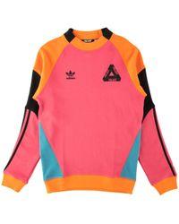 Palace - Adidas Crewneck - Lyst