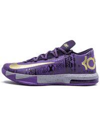 e5729aa7b5b7 Nike - Kd 6 Purple Venom metallic Gold  black History Month  - Lyst