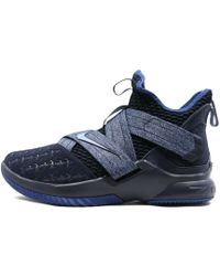 5387736963e Lyst - Nike Men s Lebron Soldier Xi Basketball Shoe in Blue for Men