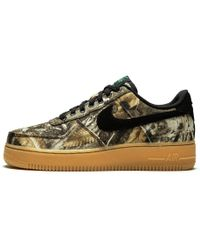 84636a12b7943 Nike Air Force 1 Low 'realtree' Camo Pack in Orange for Men - Lyst