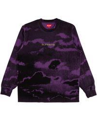 e67c13fa141f Calvin Klein Men's Clouds Crew Neck T-shirt in Blue for Men - Lyst