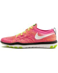 3a42bfecc331e Lyst - Nike Free Focus Flyknit 2 Training Shoes in Black for Men