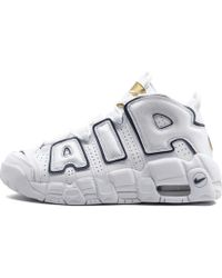 7df45e1ee0 Lyst - Nike Air More Uptempo - Women's Nike Air More Uptempo Trainers