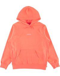 Supreme - Trademark Hooded Sweatshirt - Lyst