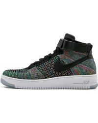 separation shoes a20a0 a5565 Nike - Air Force 1 Ultra Flyknit Mid - Lyst