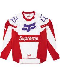 Supreme - Fox Racing Moto Jersey Top - Lyst