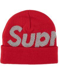 7a86f9f0338576 KTZ New York Giants Multi Super Bowl Champ Big Team Knit Hat for Men - Lyst