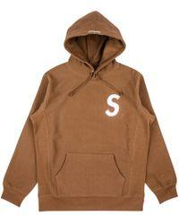 68be6c26a06d Lyst - Supreme 666 Zip-up Sweatshirt in Brown for Men