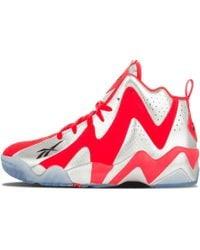 f5b063637644 Lyst - Reebok Q96 Crossexamine Basketball Shoe in White for Men