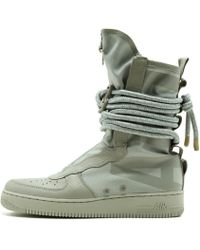 06a5c2c935d6ba Nike Sf Air Force 1 Mid Ibex in White for Men - Lyst