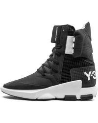 buy online 2cba6 5886e Y-3 Noci 0003 High-Top Sneakers in Black for Men - Lyst
