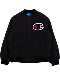 Supreme - Champion Color Blocked Jacket - Lyst