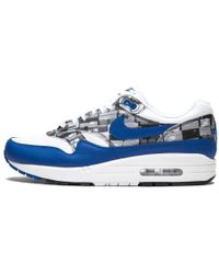 284900a42f Nike X Atmos 'we Love ' Air Max 1 In White/royal in White for Men - Lyst