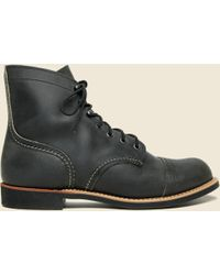 Red Wing - Iron Ranger No. 8086 - Charcoal Rough & Tough - Mini-lug Sole - Lyst