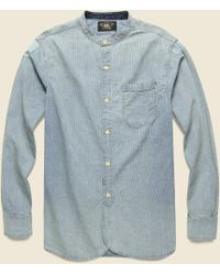 23dcae59 RRL Lee Denim Workshirt - Indigo in Blue for Men - Lyst