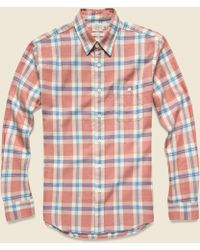 Seasons Checked Cotton-flannel Shirt Faherty Buy Cheap Low Shipping New Styles Online Cheap Store xQmlkgwU
