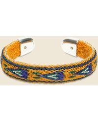 Chamula - Bendable Horsehair Bracelet - Orange - Lyst