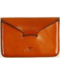 Il Bussetto - Business Card Holder - Orange - Lyst