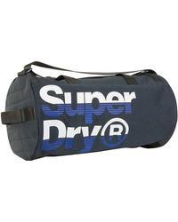 Superdry - Navy/cobalt Nue Wave Lineman Barrel Bag - Lyst