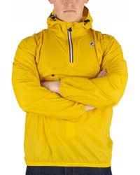 K-Way - Yellow Mustard Le Vrai 3.0 Leon Jacket - Lyst