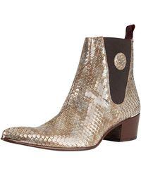 Jeffery West - Tan Medina Leather Boots - Lyst