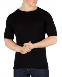 John Smedley - Black Belden T-shirt - Lyst