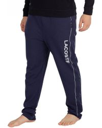 Lacoste - Night Blue Graphic Pyjama Bottoms - Lyst