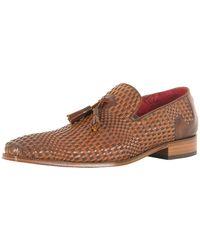 Jeffery West - Pasado Castano/toledo Castano Scarface Tan Leather Shoes - Lyst