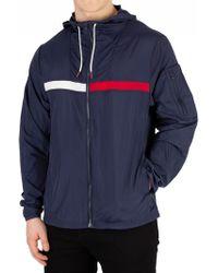 Tommy Hilfiger - Navy Blazer Windbreaker Jacket - Lyst