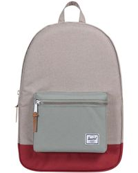 Herschel Supply Co. - Light Khaki, Shadow/brick Red Settlement 600d Poly Backpack - Lyst