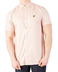 Lyle & Scott - Dusty Pink Oxford Shirt - Lyst