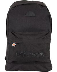 Ellesse - Black Mono Regent Ii Logo Backpack - Lyst