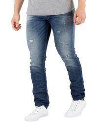 Jack & Jones - Blue Denim Glenn Original 118 Jeans - Lyst
