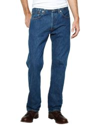 Levi's - Stonewash 501 Original Fit Denim Jeans - Lyst