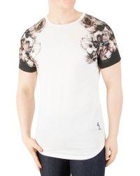 Religion - White Wild Night Shoulder Print T-shirt - Lyst