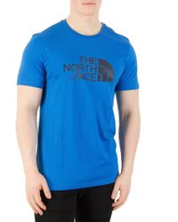 The North Face - Bomber Blue Easy T-shirt - Lyst