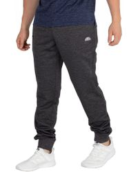 Ellesse - Anthracite Marl Oporo Joggers - Lyst