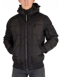 G-Star RAW - Raven Whistler Quilted Bomber Jacket - Lyst