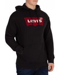 Levi's - Oversized Mens Hoodie - Lyst
