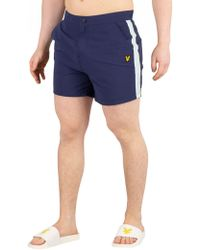 Lyle & Scott - Men's Side Stripe Shorts - Lyst