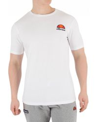 Ellesse - Optic White Canaletto T-shirt - Lyst