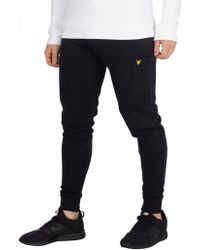Lyle & Scott - True Black Pocket Joggers - Lyst