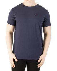 32c25af7 Tommy Hilfiger - Black Iris Original Jersey T-shirt - Lyst