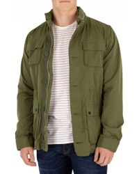 Scotch & Soda - Green Military Jacket - Lyst