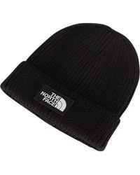 241ff226a The North Face Basic Beanie Hat in Black for Men - Save 14.0% - Lyst
